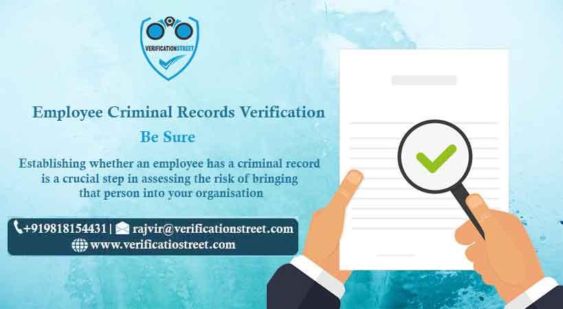 Employee Criminal Records Verification